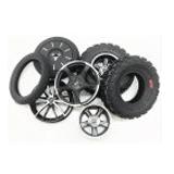Ruedas, neumáticos y llantas para segway